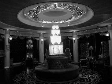 Extra Extra The Paramount, detail interior