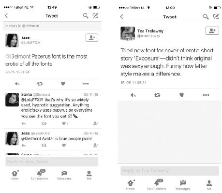 'Papyrus' Tweet
