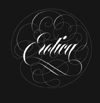 Maximiliano Sproviero, 'Erotic' type specimen cover