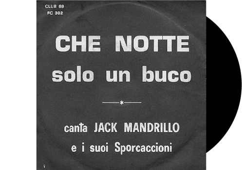 Che Notte is one of the anonymous sleeves: this cover does not differ so much from others in the same range. When you see a sleeve like this one, there is a 98% probability that it is a porn record.